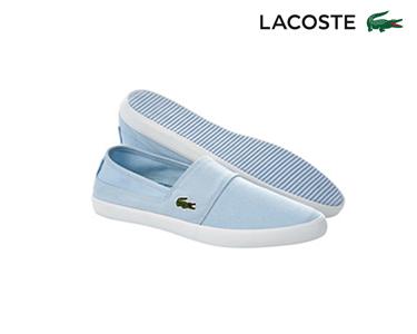 Alpargatas Lacoste® Marice Homem | Azul Claro
