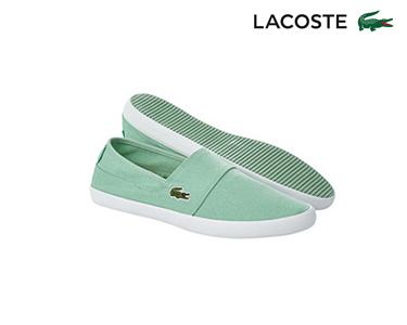 Alpargatas Lacoste® Marice Homem   Verde