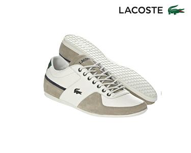 Ténis Lacoste® Taloire Homem | Branco e Bege