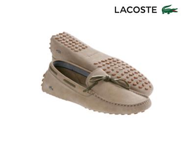 Mocassins Lacoste® Concours Homem   Bege
