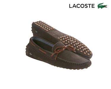 Mocassins Lacoste® Concours Homem | Castanho Escuro