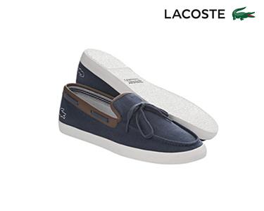 Sapatos de Vela Lacoste® Alexier Homem | Azul