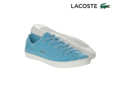 Ténis Lacoste® Fairburn Mulher | Azul Claro