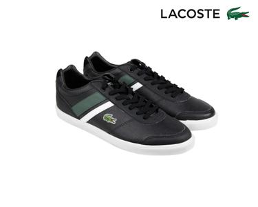 Ténis Lacoste® Comba Pri Homem | Preto e Verde Escuro