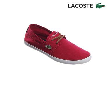 Sapatos de Vela Lacoste® Marice Lace | Vermelho