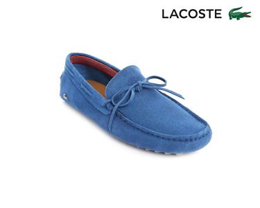 Mocassins Lacoste® Concours Lace Homem | Azul