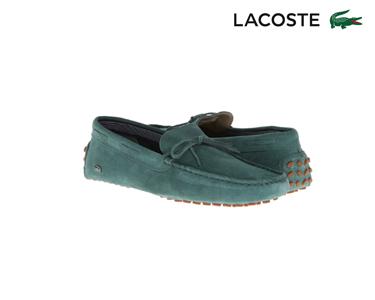 Mocassins Lacoste® Concours Lace Homem | Verde Escuro