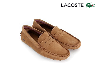 Mocassins Lacoste® Concours 17 Homem | Camel