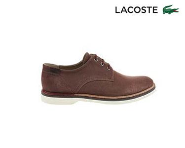 Sapatos de Couro Lacoste® Sherbrooke 13 Homem | Castanho Escuro