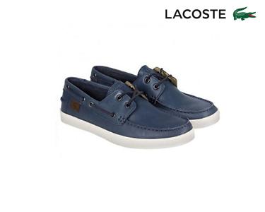 Sapatos de Vela Lacoste® Keellson Homem | Azul Escuro
