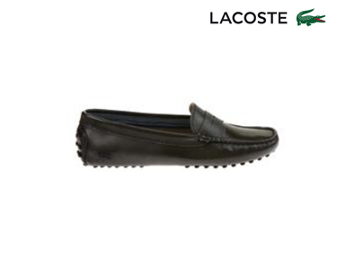 Sapatos de Vela Lacoste® Concours Mulher | Cinza Escuro
