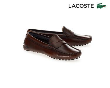 Sapatos de Vela Lacoste® Concours Mulher | Camel Escuro