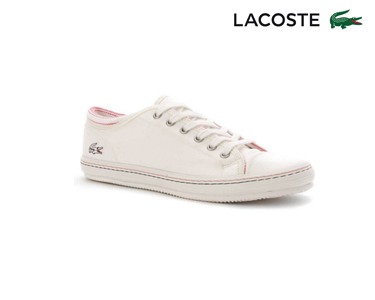 Ténis de Lona Lacoste® Shore Mulher | Branco