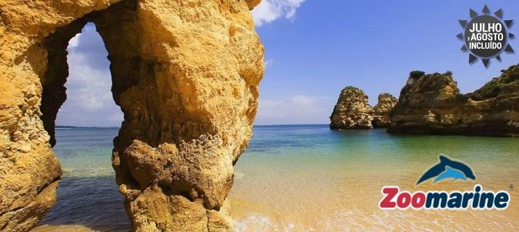 Férias no Algarve + Entradas no Zoomarine » 2 a 7 Noites em T1 até 4 Pessoas