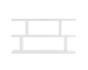 Estante Baixa Step | Branco Mate
