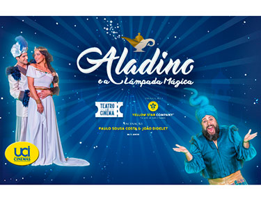 «Aladino e a Lâmpada Mágica»    2 de Abril   El Corte Inglés