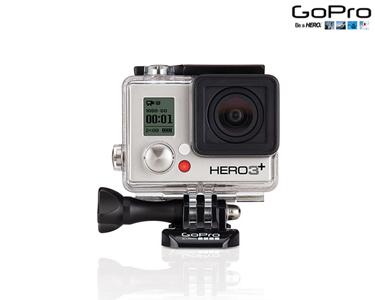 GoPro® Hero3 Silver Edition com Acessórios
