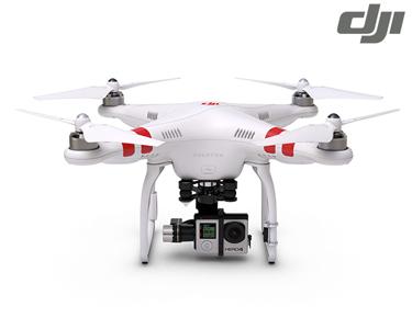 DJI Phantom® 2 H3-3D   Compativel com GoPro