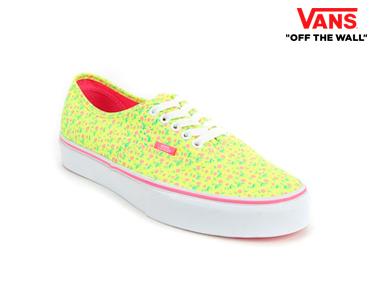 Ténis Vans® Authentic Distsy Floral | Escolha o Tamanho