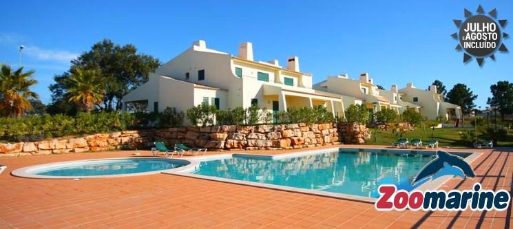 Algarve   2 a 7 Noites em T2 até 6 Pessoas & Entradas no Zoomarine