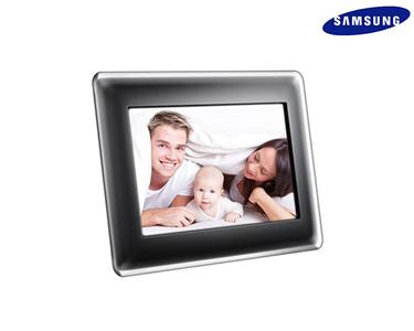 Samsung® Moldura Digital 8' 1G | SD/MMC/MS