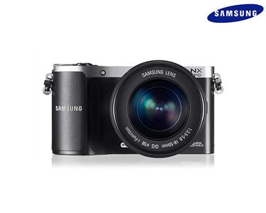 Máquina Fotográfica Samsung® NX210   20.3 MP,   Wireless e GPS