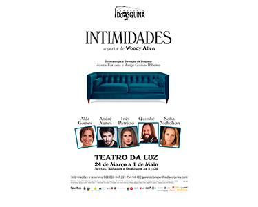 Intimidades - A Partir de Textos de Woody Allen | Teatro da Luz