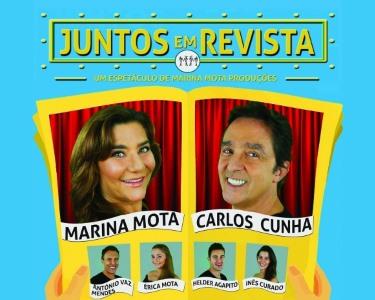 «Juntos em Revista» com Marina Mota e Carlos Cunha   Teatro Villaret