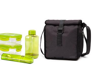 Lancheira & 4 Recipientes - Bag&Go Lifestyle! | Escolha a Cor