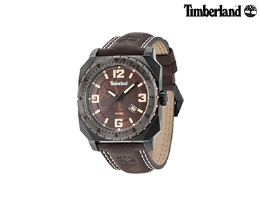 Relógio Timberland® Pinardville Castanho