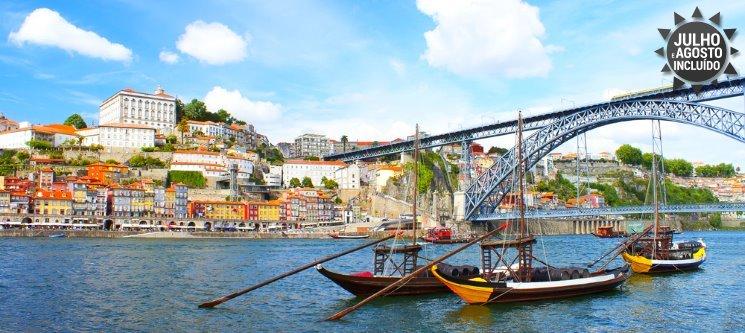 Apaixonante Douro! 1 a 5 Noites + Cruzeiro das 6 Pontes | Hotel Amadeos