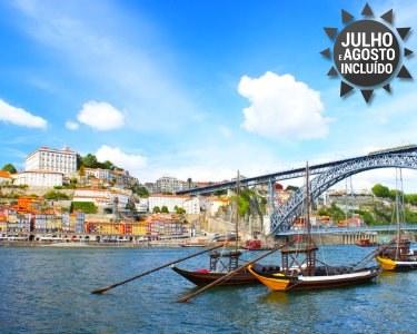 Romance no Douro! 1 a 5 Noites + Cruzeiro das 6 Pontes   Hotel Amadeos