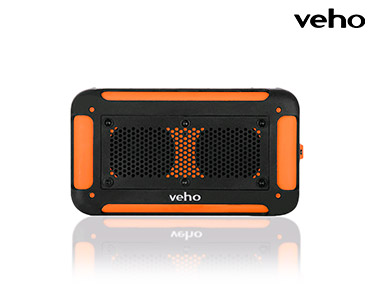 Mini Altifalante Veho® c/Bluetooth | Cor de Laranja