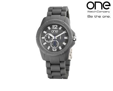 Relógio One® Colours Slope | Cinzento