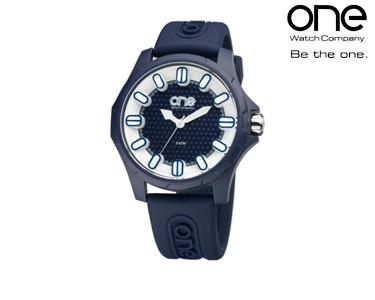 Relógio One® Colours Glow | Azul Escuro