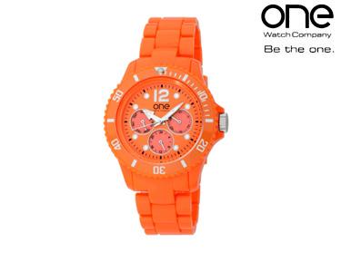 Relógio One® Senhora Tint | Laranja