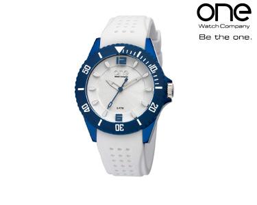 Relógio One® Colours Gum | Branco