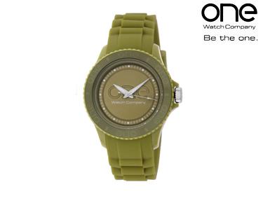 Relógio One® Senhora Logo | Verde