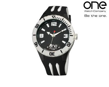 Relógio One® Colours Shade   Preto e Branco