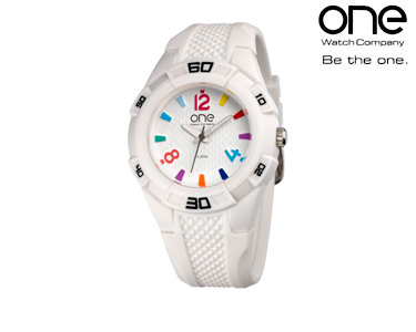 Relógio One® Tone   Branco