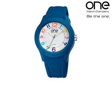 Relógio One® Colours Paint | Azul