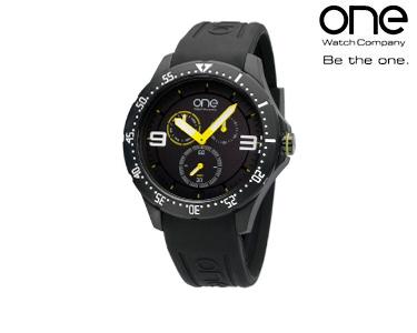 Relógio One® Colours Neon | Preto