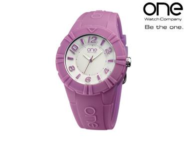 Relógio One® Cmyk | Lilás