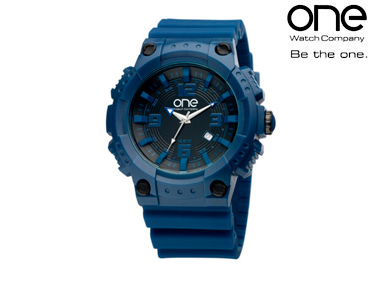 Relógio One® Noir | Azul