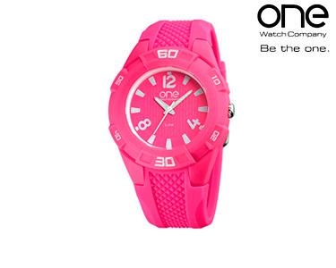 Relógio One® Tone Rosa