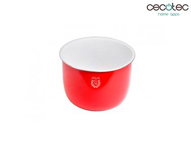 Recipiente Cerâmico Vermelho 6L | Cecotec®