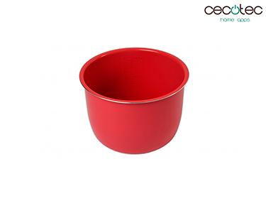 Recipiente Cerâmico Vermelho | Cecotec®