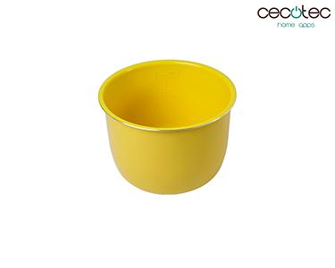 Recipiente Cerâmico Amarelo | Cecotec®