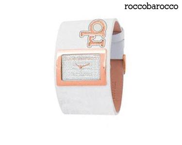 Relógios Rocobarroco® | Bangle Stones Branco