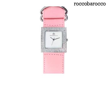 Relógios Rocobarroco® | Soft Leather Rosa